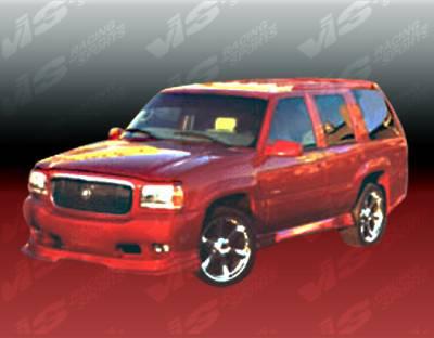 Escalade - Front Bumper - VIS Racing - Cadillac Escalade VIS Racing Outcast-2 Front Lip - 99CAESC4DOC2-011