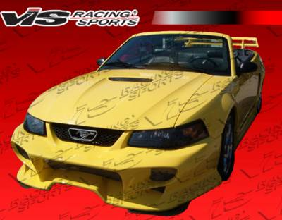 Mustang - Front Bumper - VIS Racing - Ford Mustang VIS Racing Invader Front Bumper - 99FDMUS2DINV-001