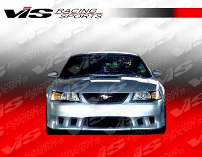 Mustang - Front Bumper - VIS Racing - Ford Mustang VIS Racing Stalker Front Bumper - 99FDMUS2DSTK-001