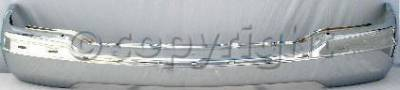 Factory OEM Auto Parts - Original OEM Bumpers - Custom - FRONT BUMPER CHROME
