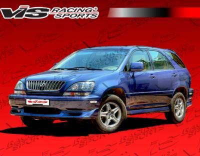 RX300 - Front Bumper - VIS Racing - Lexus RX300 VIS Racing Techno R Front Lip - 99LXRX34DTNR-011