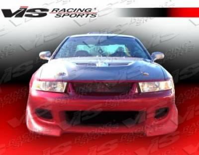Galant - Front Bumper - VIS Racing - Mitsubishi Galant VIS Racing Battle Z Front Bumper - 99MTGAL4DBZ-001