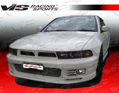 Galant - Front Bumper - VIS Racing - Mitsubishi Galant VIS Racing VR-4 Front Bumper - 99MTGAL4DVR4-001