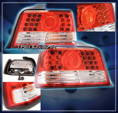 Headlights & Tail Lights - Led Tail Lights - Custom - LED Altezza Tail Light - Red Clear