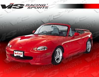 Miata - Front Bumper - VIS Racing - Mazda Miata VIS Racing Magnum Front Lip - 99MZMX52DMAG-011