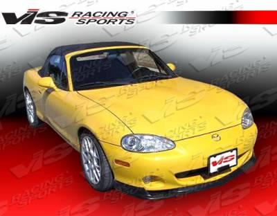 Miata - Front Bumper - VIS Racing - Mazda Miata VIS Racing M-Speed Front Lip - 99MZMX52DMSP-011
