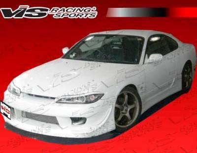 Silvia - Front Bumper - VIS Racing - Nissan Silvia VIS Racing G Speed Front Bumper - 99NSS152DGSP-001