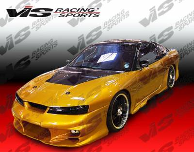 Silvia - Front Bumper - VIS Racing - Nissan Silvia VIS Racing Invader Front Bumper - 99NSS152DINV-001