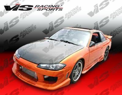 Silvia - Front Bumper - VIS Racing - Nissan Silvia VIS Racing Striker Front Bumper - 99NSS152DSTR-001
