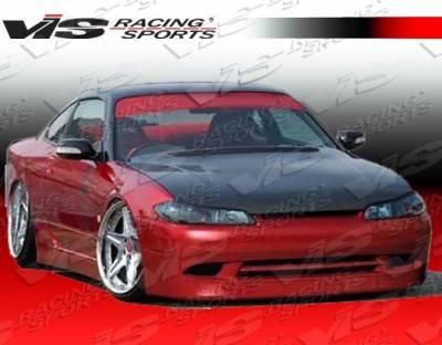 Silvia - Front Bumper - VIS Racing - Nissan Silvia VIS Racing Super Front Bumper - 99NSS152DSUP-001