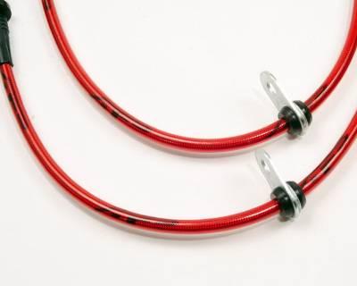 Agency Power - Subaru WRX Agency Power Steel Braided Brake Lines - Front - AP-GH-405 - Image 3