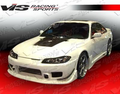 Silvia - Front Bumper - VIS Racing - Nissan Silvia VIS Racing Tracer Front Bumper - 99NSS152DTRA-001