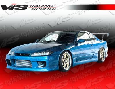 Silvia - Front Bumper - VIS Racing - Nissan Silvia VIS Racing Wings Front Bumper - 99NSS152DWIN-001