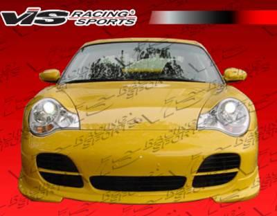 911 - Front Bumper - VIS Racing - Porsche 911 VIS Racing A-Tech 2 Front Lip - 99PS9962DATH2-011