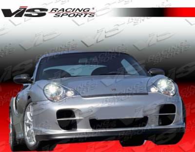 911 - Front Bumper - VIS Racing - Porsche 911 VIS Racing D2 Front Lip - 99PS9962DD2-011