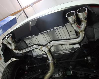 Agency Power - Subaru WRX Agency Power Muffler-Less Catback Exhaust with Quad Tips - AP-GRBH-170T - Image 5