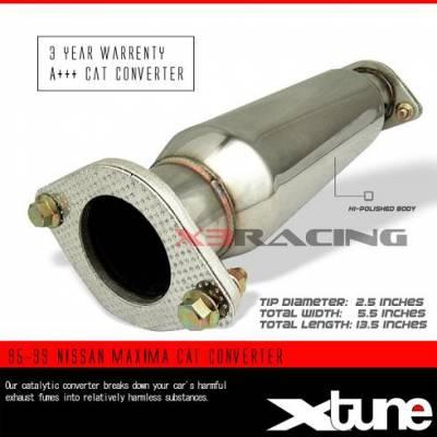 Exhaust - Universal Mufflers - Custom - 95-99 NISSAN MAXIMA CAT CONVERTER