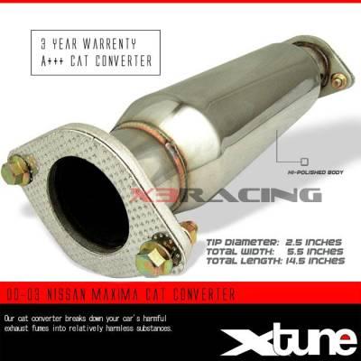 Exhaust - Universal Mufflers - Custom - 00-03 NISSAN MAXIMA CAT CONVERTER