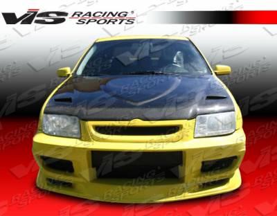 Jetta - Front Bumper - VIS Racing - Volkswagen Jetta VIS Racing Demon Front Bumper - 99VWJET4DDEM-001