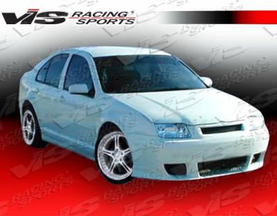 Jetta - Front Bumper - VIS Racing - Volkswagen Jetta VIS Racing Xtreme Front Bumper - 99VWJET4DEX-001