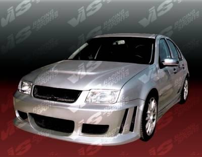 Jetta - Front Bumper - VIS Racing - Volkswagen Jetta VIS Racing Titan Front Bumper - 99VWJET4DTT-001
