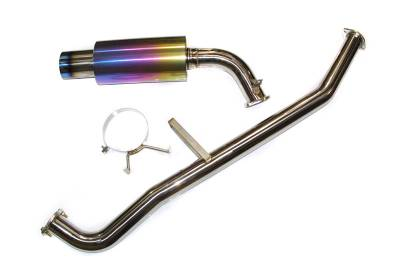 Agency Power - Nissan S13 Agency Power Catback Exhaust with Titanium Colored Tip - AP-S13-170 - Image 3