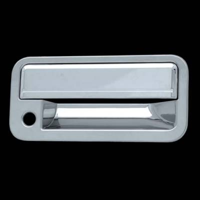 Suv Truck Accessories - Chrome Billet Door Handles - Chrome Remedies - DOOR HANDLE COVER