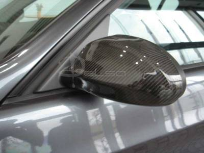 3 Series 4Dr - Mirrors - Custom - CARBON FIBER SIDE MIRROR COVER