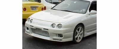 Sense - Acura Integra Sense Skyline R33 Style Front Bumper - R33-13F