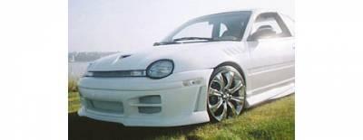 Neon 2Dr - Front Bumper - Sense - Dodge Neon Sense R34 Octane Front Bumper - R34-121F
