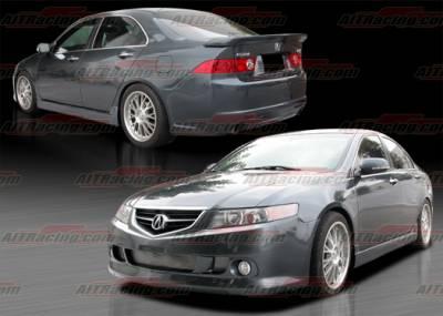 TSX - Body Kits - AIT Racing - Acura TSX AIT Racing KS Style Complete Body Kit - ATX04HIKENCK