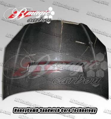 RSX - Hoods - AIT Racing - Acura RSX AIT Racing N1 Style Hood - AX01BMN1SCFH