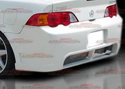 RSX - Rear Bumper - AIT Racing - Acura RSX AIT Racing BCN-2 Style Rear Bumper - AX01HIBCN2RB2
