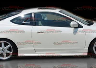RSX - Side Skirts - AIT Racing - Acura RSX AIT Racing BCN-2 Style Side Skirts - AX01HIBCN2SS2