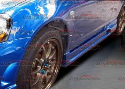 RSX - Side Skirts - AIT Racing - Acura RSX AIT Racing I-Spec 2 Style Side Skirts - AX01HIING2SS