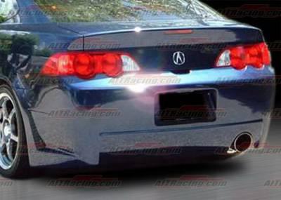 RSX - Rear Bumper - AIT Racing - Acura RSX AIT Racing Zen Style Rear Bumper - AX01HIZENRB
