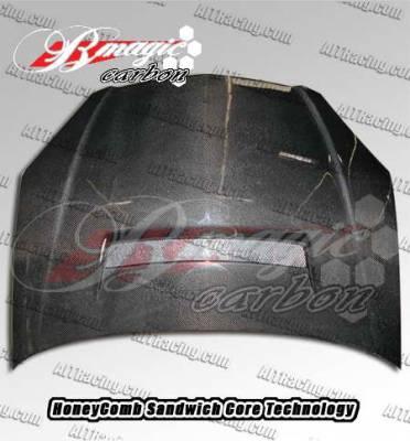 RSX - Hoods - AIT Racing - Acura RSX AIT Racing N1 Style Carbon Fiber Hood - AX02BMN1SCFH