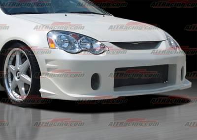 RSX - Front Bumper - AIT Racing - Acura RSX AIT Racing BCN-2 Style Front Bumper - AX02HIBCN2FB