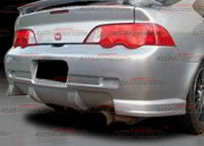 RSX - Rear Bumper - AIT Racing - Acura RSX AIT Racing CW Style Rear Bumper - AX02HICWSRB