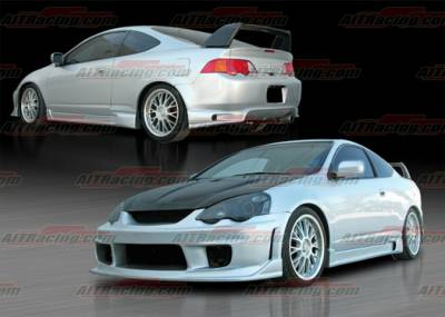RSX - Body Kits - AIT Racing - Acura RSX AIT Racing ING Style Complete Body Kit - AX02HIINGCK