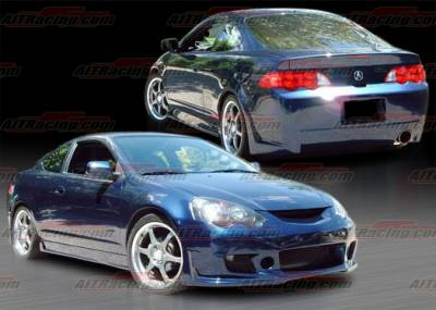 RSX - Body Kits - AIT Racing - Acura RSX AIT Racing Zen Style Complete Body Kit - AX02HIZENCK