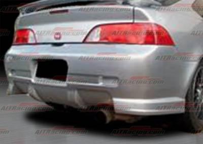 RSX - Rear Bumper - AIT Racing - Acura RSX AIT CW Style Rear Bumper - AX05HICWSRB