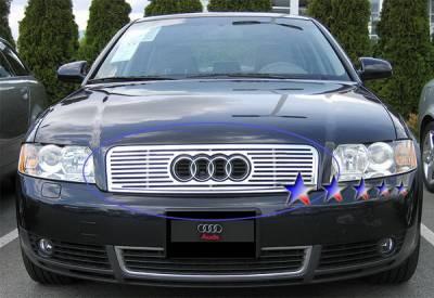 APS - Audi A4 APS CNC Grille - Upper - Aluminum - B95500A