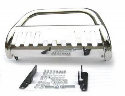 Grilles - Grille Guard - 4 Car Option - Chevrolet Suburban 4 Car Option Bull Bar - BB-CV-0011