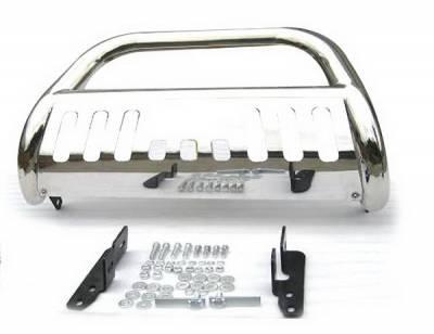 Grilles - Grille Guard - 4 Car Option - GMC Yukon 4 Car Option Bull Bar - BB-CV-0011