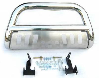 Grilles - Grille Guard - 4 Car Option - Chevrolet Avalanche 4 Car Option Bull Bar - BB-CV-0178