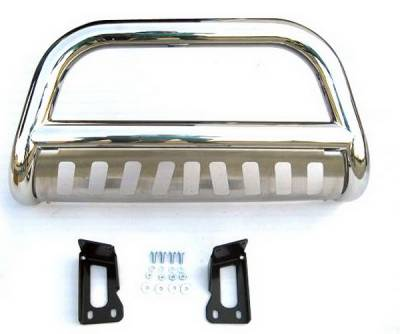 Grilles - Grille Guard - 4 Car Option - Ford Superduty 4 Car Option Stainless Steel Bull Bar - BB-FD-0068