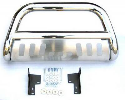 Grilles - Grille Guard - 4 Car Option - Toyota Tacoma 4 Car Option Stainless Steel Bull Bar - BB-TY-0194