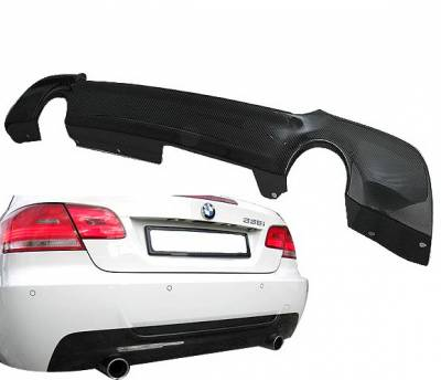 4CarOption - BMW 3 Series 4CarOption Diffuser - BLD-BE92TE-CF
