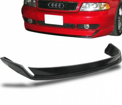 A4 - Front Bumper - 4CarOption - Audi A4 4CarOption Front Bumper Lip - BLF-AA496O-PU